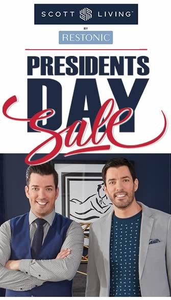 Scott Living by Restonic President's Day Mattress Sale